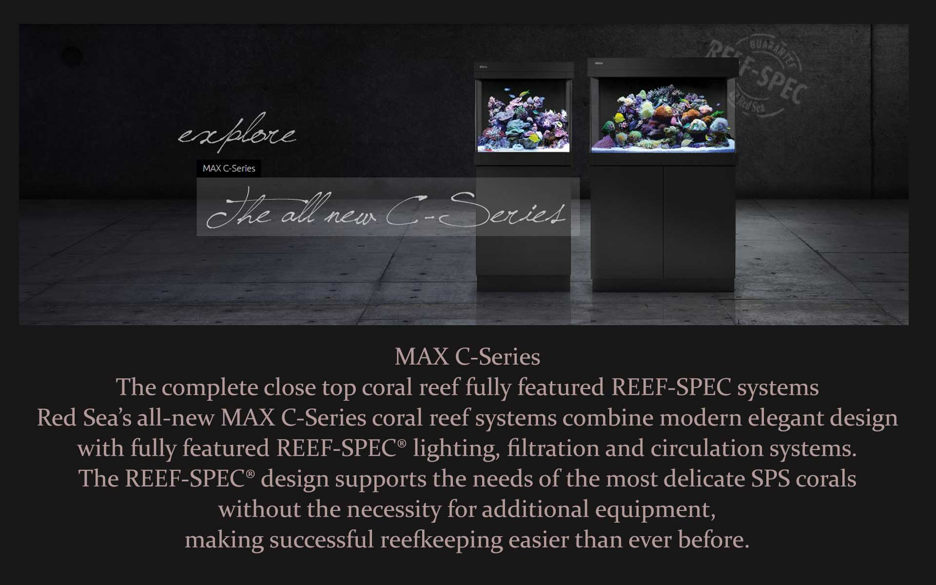 Red Sea C-Max Series